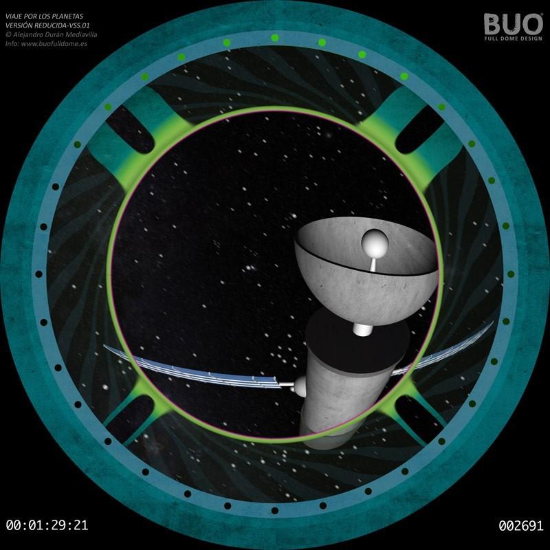 Viaje por los Planetas del Sistema Solar (9 min. aprox.)