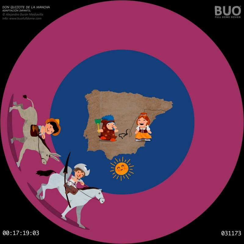 Don Quixote of La Mancha (21 min. aprox.)