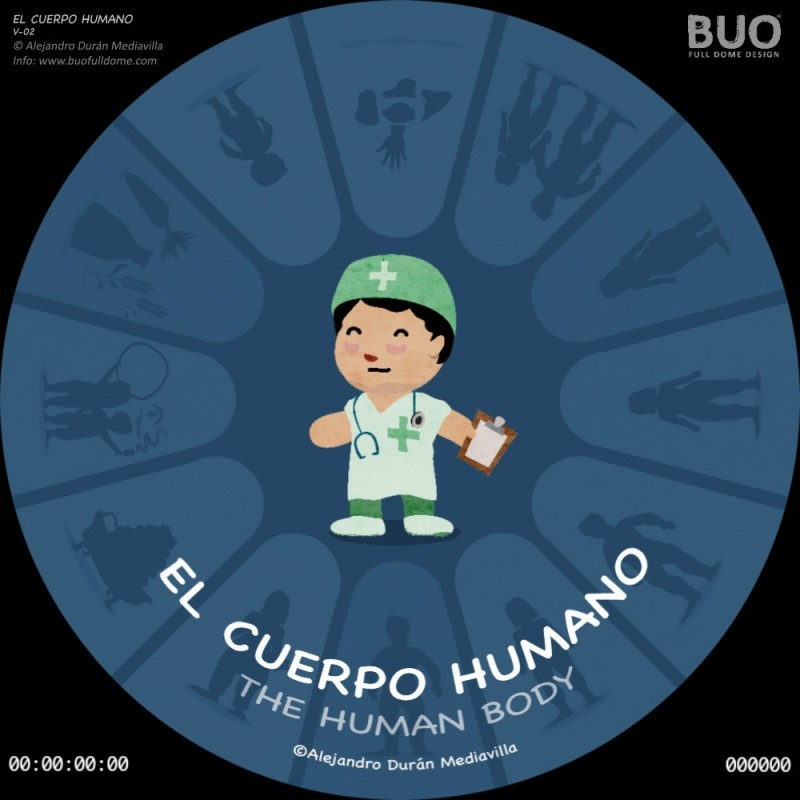 El cuerpo Humano (25 min. aprox.)
