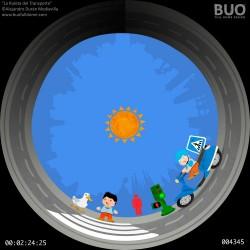 Medios de transporte. Educación Infantil. Película Planetario móvil
