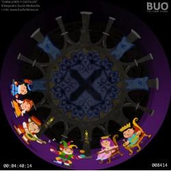 Caballeros y Castillos. Películas Planetario Móvil Digital. Centros Escolares