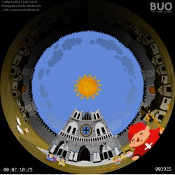 Knights and Castles. Digital Mobile Planetarium. Fulldome Show. Schools