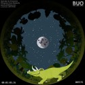 Dinosaurs Child's movie. Digital Planetarium. Fulldome Show.