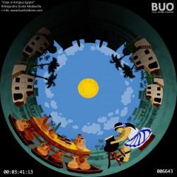 Travel to Ancient Egypt. Digital Planetarium Childish. Fulldome Show.