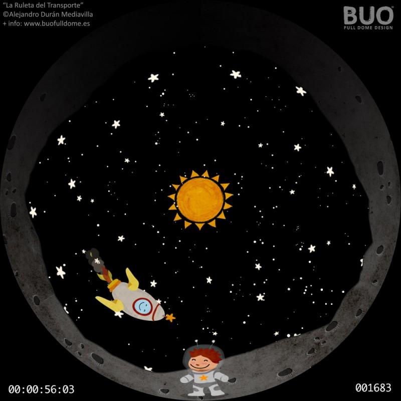 cohete, espeacio pelicula astronomia planetario