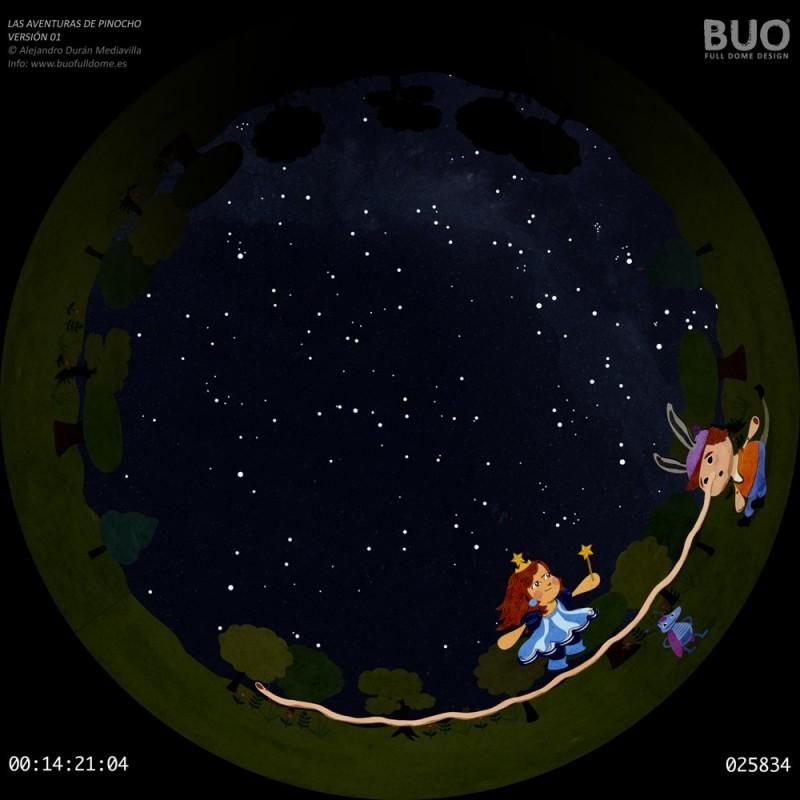 pelicula planetario digital infantil pinocho