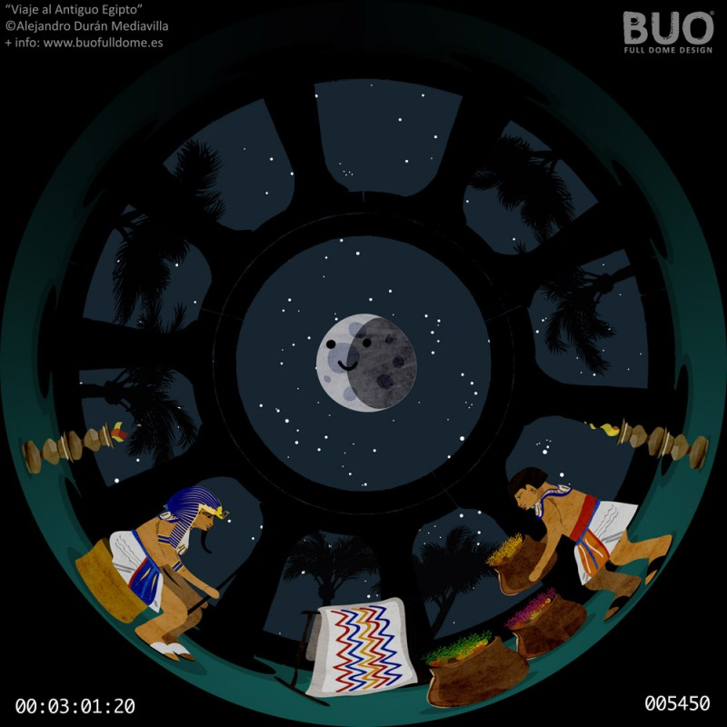 egipto pelicula infantil planetario digital movil fulldome comprar